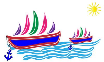 Barcos de vela.