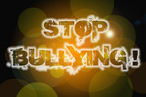 Stop Bullying Concept poster