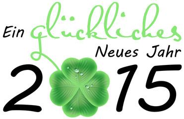 Ein glückliches Neues Jahr 2015