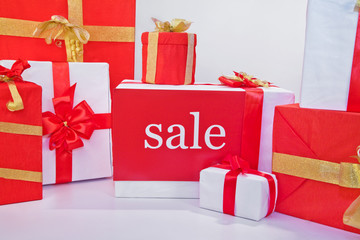 Sale of gift boxes