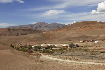 Yurt camping Tydtuyaryk, Altai Mountains