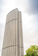PARIS, FRANCE - JULY 21, 2014: Tour Montparnasse constructed fro