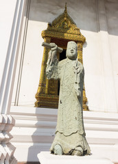 stone carving for one of chinese Eight Immortals