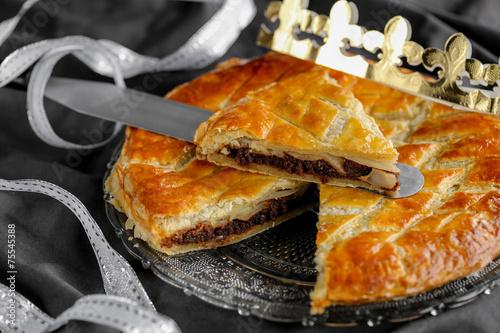 Papiers peints Dessert galette des rois poire chocolat 5