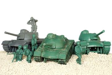 tank battle toy plastic