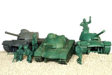 tank battle toy plastic 2