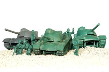 tank battle toy plastic 3