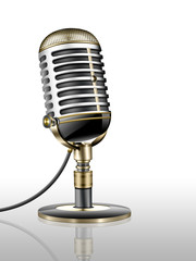 Altes Mikrofon, Nostalgie freigestellt