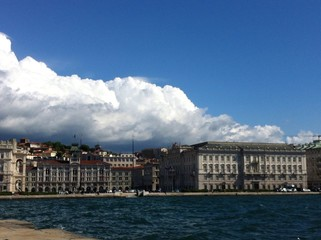 trieste and sea