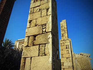 Ancient columns from Avola (Sicily)