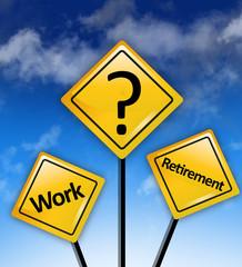 Work retirement savings dilemma
