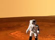 Astronaut Spaceman Mars Planet - 75549117