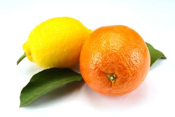 citron et orange