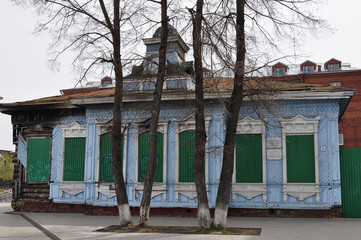 Monument of wooden architecture of the second half 19v. Tyumen,