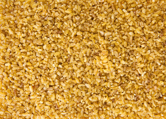 Bulgur Wheat Background