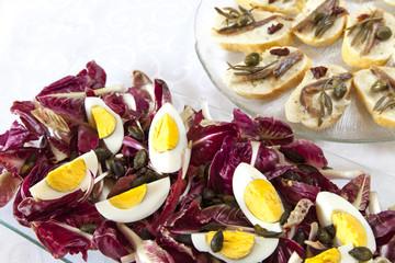 Organic Salad and snacks
