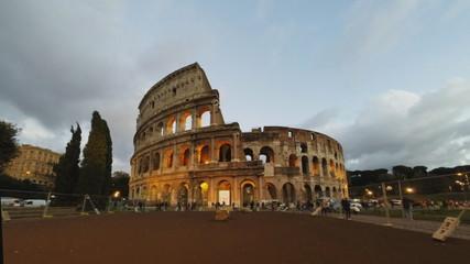 Coliseum evening