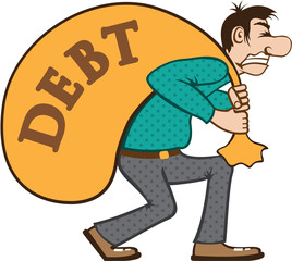 Debt pressure / load struggle