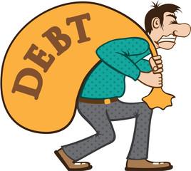 Debt pressure / load struggle