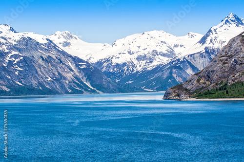 Aluminium Bergen Alaskan Landscape