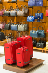 Store suitcases and bags