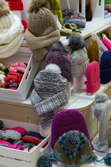 Sale knitted winter hats