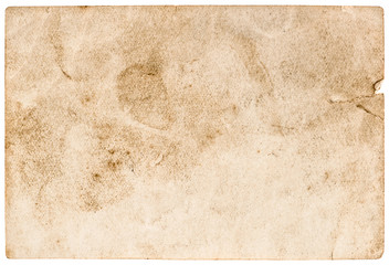 stained used paper background. grunge texture