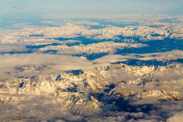 desert chain of mountains