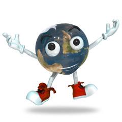 Earth Fun Character