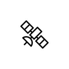 Satellite Trendy Thin Line Icon