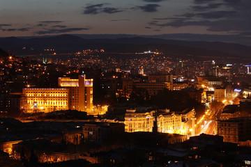 View of Night Tbilisi, Georgia