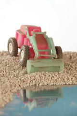 bulldozer toy plastic
