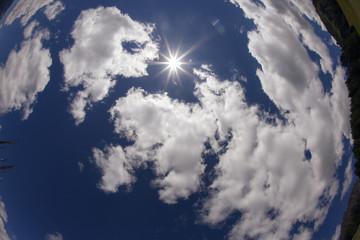 il sole a forma di stella