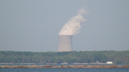 Nuclear Power Plant, Air Pollution, Energy, Electricity