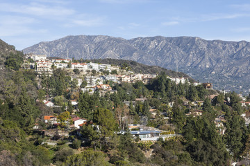 Southern California Hillside Homes