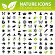 nature icons collection - 75562972