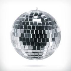 Disco ball, vector icon