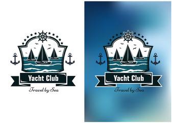 Yacht club emblems