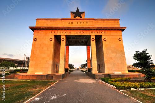 Papiers peints Pays d Afrique Independence Arch, Accra, Ghana