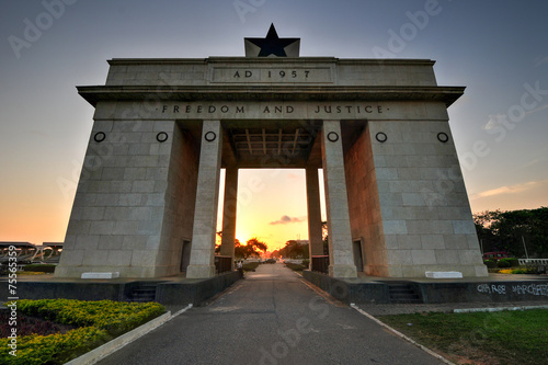 Aluminium Overige Independence Arch, Accra, Ghana