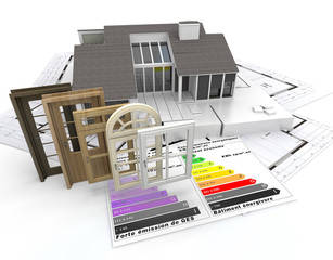 Energy efficient construction