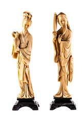 Chinese slender figurine