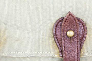 detail buckle on leather bags