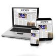 canvas print picture - Online news