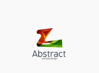 Modern company Z letter logo