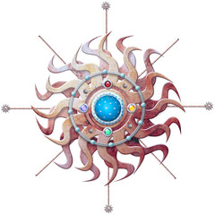 Astrologic sun star