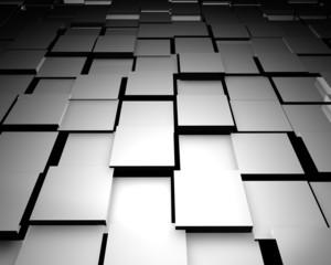 abstract 3d floor tiles