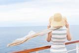 woman at cruise ship