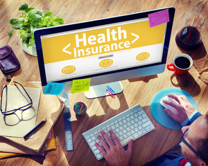 Health Insurance Medical Wellness Concept