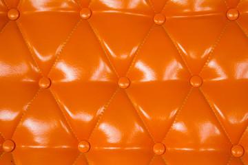 orange genuine leather